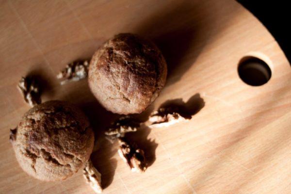 Bezglutenowe muffinki gryczane z musem jabłkowym
