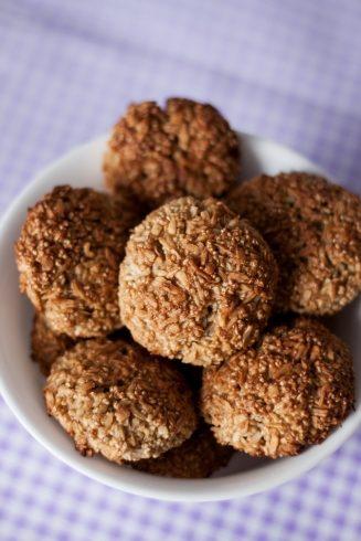 Amarantuski z wiórkami kokosowymi i cynamonem