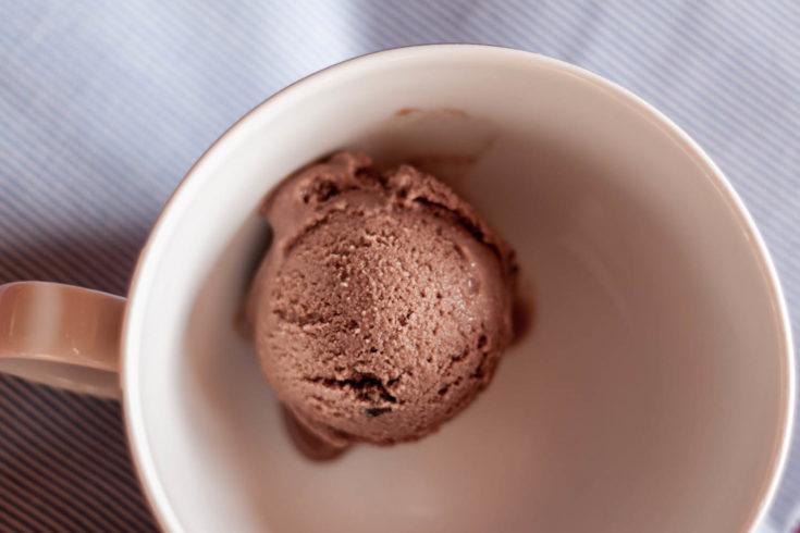 Domowe lody czekoladowe bez cukru