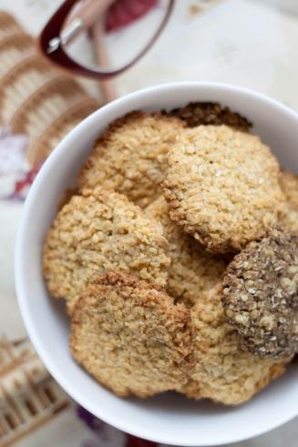 Wegańskie ciasteczka jaglane bez cukru