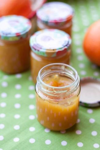 Dżem z pomarańczy bez cukru