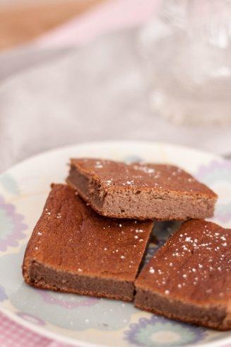 Fasolowe brownie z karobem bez cukru