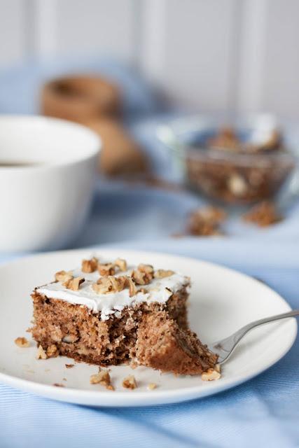 Pełnoziarniste orkiszowe ciasto zpasternakiem (bezcukru)