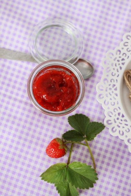 Dżem truskawkowy bezcukru