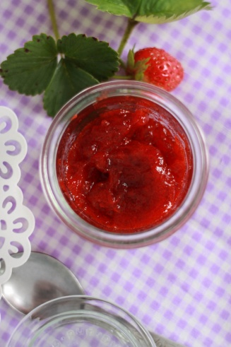 Dżem truskawkowy bez cukru