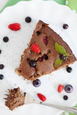 Ciasto pełnoziarniste z karobem z bloga Lifemanagerka