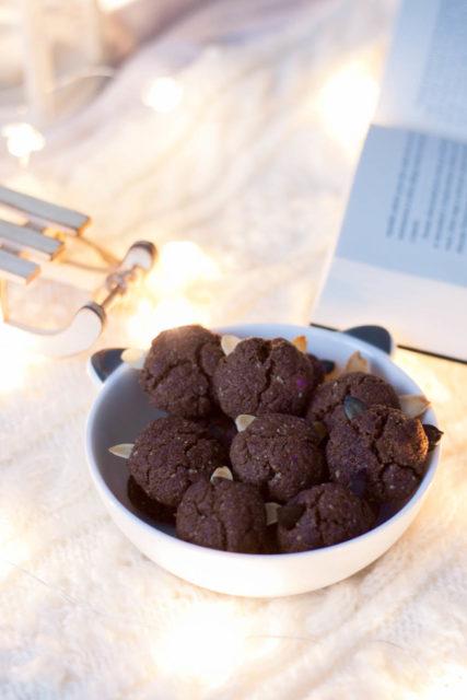 Ciasteczka orzechowe zuszkami (bezcukru imasła)