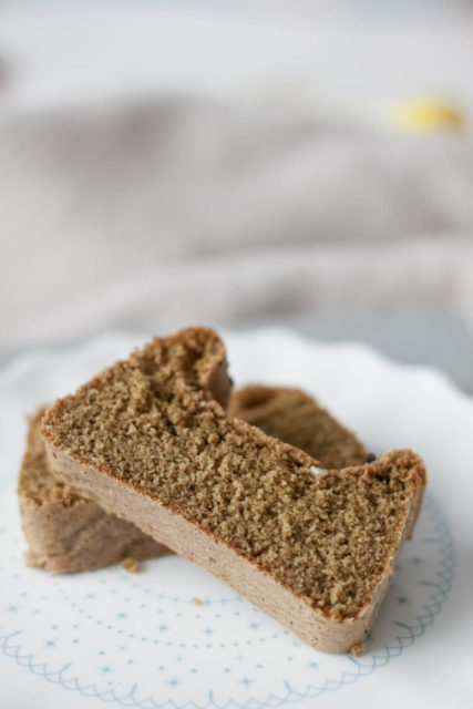 Ciasto biszkoptowe z mąką dyniową bez cukru wersja fit