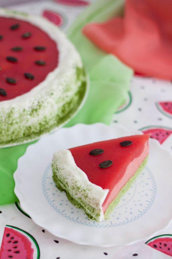 Bezglutenowe ciasto arbuzowe bez cukru