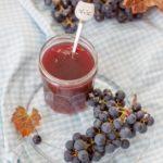 Domowy dżem z winogron bez cukru