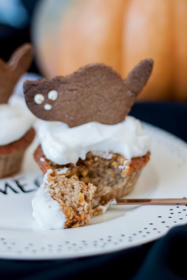 Muffinki dyniowe zkokosem naHalloween