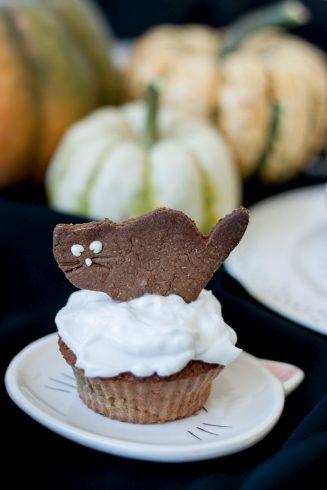 Muffinki dyniowe z kokosem na Halloween