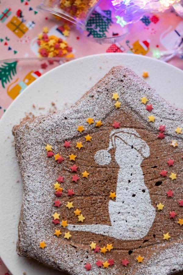 Świąteczny piernik na białkach z powidłami Zdrowe przepisy na święta